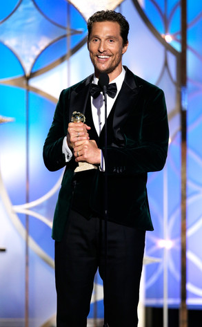 Matthew McConaughey, Golden Globe Awards